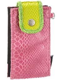 Poodlebags  entertainbag - Snake - pink, Portemonnaies femme