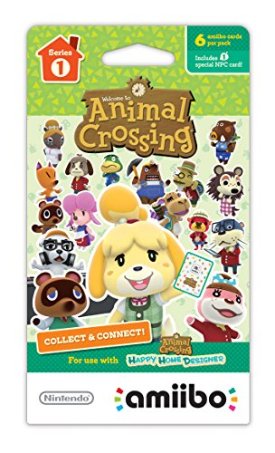 Animal Crossing Series 1 Single Pack of 6 Cards by Nintendo