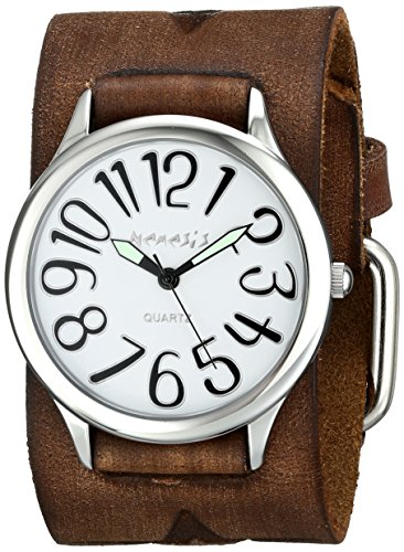 Nemesis Women's 108BFST-S Always Summer Series Analog Display Japanese Quartz Brown Watch
