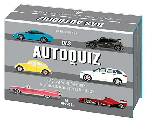 Das Auto-Quiz   555 Fragen und Antworten   Alles über Marken, Motoren und Legenden (Quiz-Boxen)