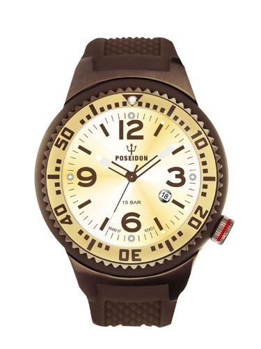 Kienzle Men's Quartz Watch POSEIDON L Slim K2093069153-00411 with Rubber Strap