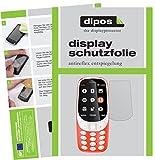Nokia 3310 Pellicola Protettiva - 2x dipos antiriflesso pellicola di protezione