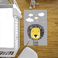 Bebişim Sevimli Aslan Çocuk Odası Halısı (133x190 cm)