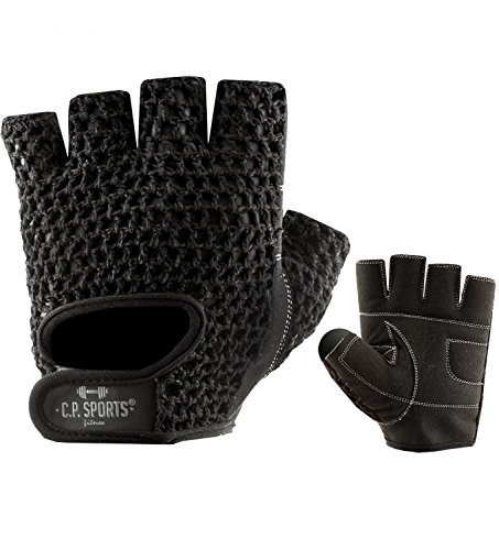 C.P. Sports Trainings Fitness Handschuh Klassik, Schwarz/Weiß, XXL, 38584 - 2