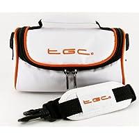 TGC® funda para cámara Sony Cybershot DSC-H1con correa para el hombro y asa de transporte