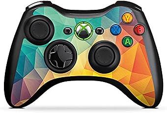 DeinDesign Microsoft Xbox 360 Controller Folie Skin Sticker aus Vinyl-Folie Aufkleber Muster Pattern Abstrakt