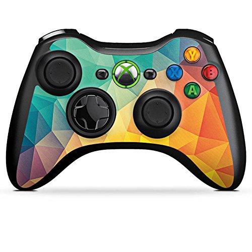Microsoft Xbox 360 Controller Folie Skin Sticker aus Vinyl-Folie Aufkleber Muster Pattern Abstrakt