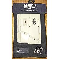Albion Youth - Almohadilla de muslo, cierre de velcro/gancho, fácil de usar para Batsman