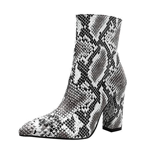 Go Go Stiefel Für Verkauf - Dorical Stiefeletten Ankle Boots mit Blockabsatz
