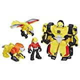 Hasbro Playskool Heroes Transformers Rescue Bots - BUMBLEBEE ROCK RESCUE TEAM - Bumblebee Figure Converts from Bot Mode to Rock Crawler Mode and Back