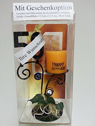 Leuchter Happy Birthday (90. Geburtstag) - 3