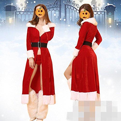 Sängerin Kostüme Rock (Weihnachten Kostüme sexy Mantel Rock Sängerin Kragen Tänzer führen Kleidung Festival / Halloween /)