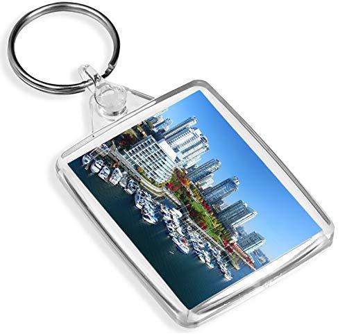 Schöne Vancouver Keyring Britisch-Kolumbien Kanada Skyline City Gift # 16117