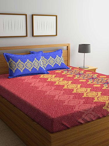 Bombay Dyeing Breeze Beautiful and Elegant Red Color Modern Print 140 TC...