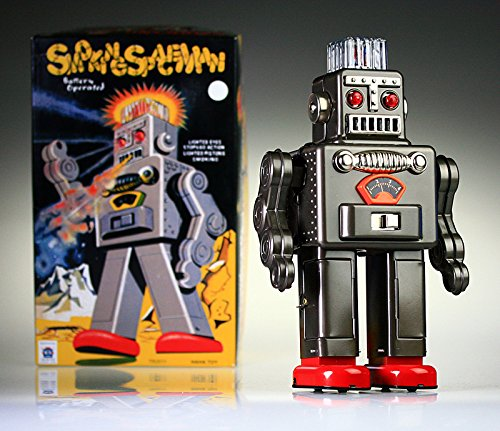 tr2011-Smoking-Robot-Spaceman-Tin-Toy-funciona-con-pilas-Retro-Robot