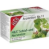 H&S Schlaf- und Nerventee N Filterbeutel 40 g Filterbeutel
