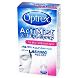Optrex ActiMist 2-in-1 Dry Plus Irritated Eye Spray, 10 ml Bild 1
