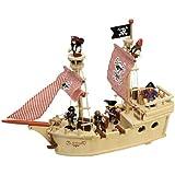 Bateau de Pirate Paragon, jouet en bois