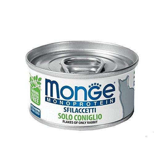 Monge Cat Sfilaccetti Monoprotein Coniglio Lattina 80 gr