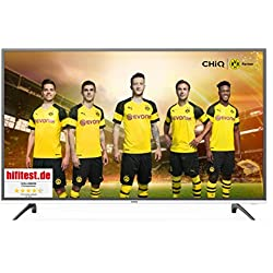 CHiQ Smart 4K TV U50E6000, 50 Pouces (127cm) Ultra Haute Définition, 3840x2160, Netflix, Youtube, Facebook, Twitter, HDMI, WiFi,USB
