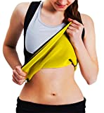 Donna Body Shaper Fitness Sculpting neoprene Taille Trainer Weight Loss senza zip, nero, XXL