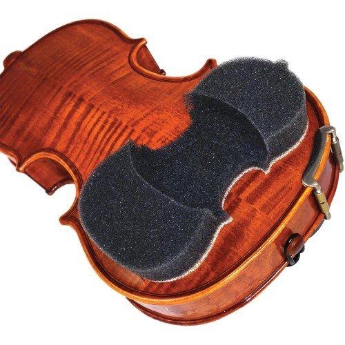Acousta Grip 433283 - Almohadilla protege para violines 1/8, 1/4 y 1/2, charcoal