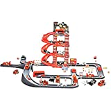 #6: Big Racing Track Parking Garage for Kids Toy 55 PCs