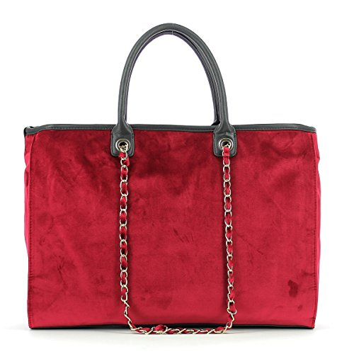 Borsa Shopping L Viola RED