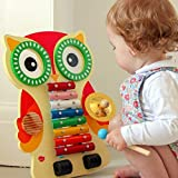 Wooden Shape Sorter, Xylophone and Pull Along Aeroplane (New, boxed, minor imperfections)