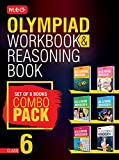 Class 6: Work Book & Reasoning Book Combo for NSO-IMO-IEO-NCO-IGKO (2018-19)