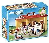 Playmobil Granja de Ponis - Maletín establo de caballos (5348)