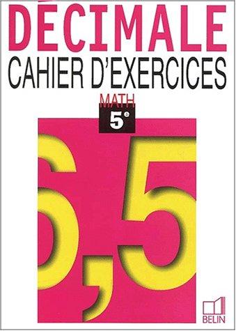 Mathématiques, 5e, travaux dirigés, 1997