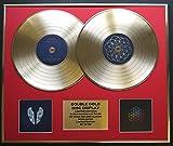 COLDPLAY/double CD Disco de Oro display/Edicion LTD/Certificato di autenticità/GHOST STORIES & A HEAD FULL OF DREAMS