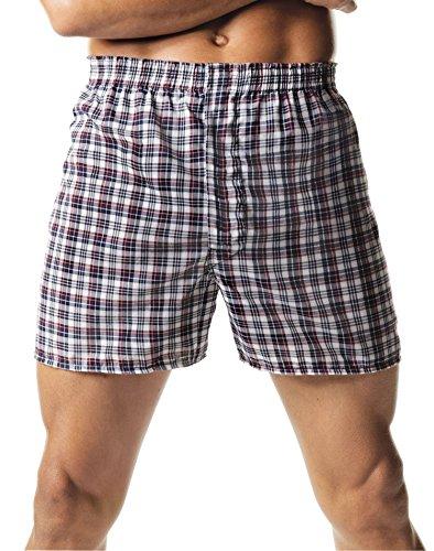 Hanes Tartan Boxers Style # 833P2 833P2-S-Assorted (Tartan Hanes Boxer)