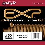 """D'Addario EXPPBB130 EXPXB130SL EXP Einzelsaite für Bassgitarre, mit Nickel beschichtetem Runddraht umsponnen (""""roundwound"""").130"""