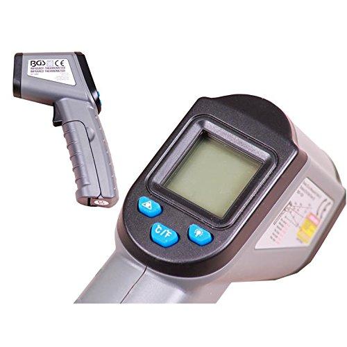 BGS Digital-Laserthermometer, -50 bis +500 Grad Celcius, 1 Stück, 6005