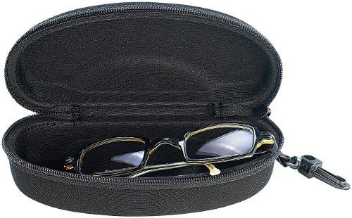 infactory Brillenetui: Stoßabsorbierendes Hardcase-Brillen-Etui 160 x 75 x 50 mm (Sonnenbrillenetui)