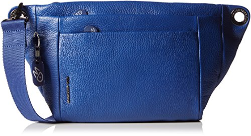 mandarina-duck-mellow-leather-bolsa-de-hombro-para-mujer-color-azul-blu-blu-177-talla-39x4x21-cm-b-x