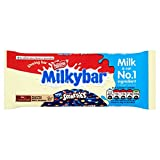 Milkybar and Smarties Chocolate Sharing Block, 100 g, Pack...