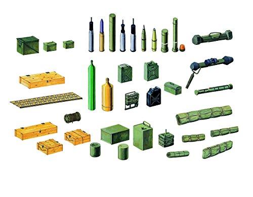 Italeri 510006423 - 1:35 Zubehör-Set Militär Modern