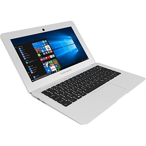 Thomson NEO12.32S Ordinateur Portable 11,6' Blanc (Intel Intel_Atom, 32 Go de RAM, 32 Go, Windows 10) Clavier AZERTY français