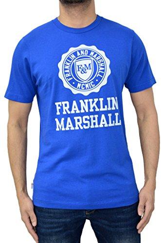 Franklin & Martial Herren Langarmshirt Gr. XL, Academy Blue