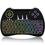 Mini Wireless Keyboard 2.4Ghz Backlight Remote Control with Keyboard Touchpad Mouse Combo for Google Android Smart TV Raspberry Pi 3 Xbox 360 HTPC IPTV