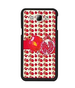 Fuson 2D Printed Fruit Designer back case cover for Samsung Galaxy A8 - D4460
