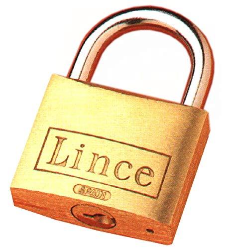 LINCE - Candado Laton Lince 40 Mm