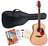Classic Cantabile WS-2 Guitare Folk / Western nature starter SET