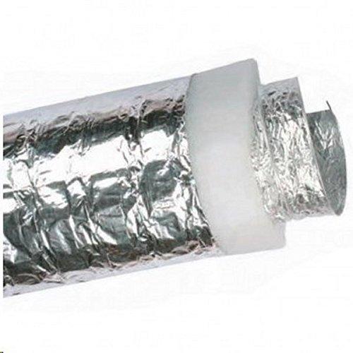 tubo CONDIZIONAMENTO ventilazione coibentato 60 mm x 10 mt.