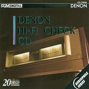 Denon Hi-Fi Check CD [Import anglais]