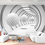 Fototapete 3D - Weiß 352 x 250 cm Vlies Wand Tapete Wohnzimmer Schlafzimmer Büro Flur Dekoration Wandbilder XXL Moderne Wanddeko - 100% MADE IN GERMANY - Runa Tapeten 9175011a