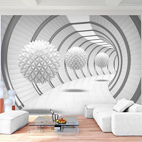 Fototapete 3D   Weiß 352 X 250 Cm Vlies Wand Tapete Wohnzimmer Schlafzimmer  Büro Flur Dekoration Wandbilder XXL Moderne Wanddeko   100% MADE IN GERMANY  ...